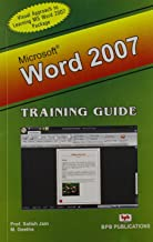 MS WORD 2007 TRAINING GUIDE