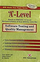 A' LEVEL- SOFTWARE TESTING & QUALITY MANAGEMENT  A10.2-R-4)