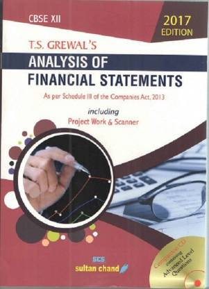 ANALYSIS OF FINANCIAL STATEMENTS (CLASS-XII)