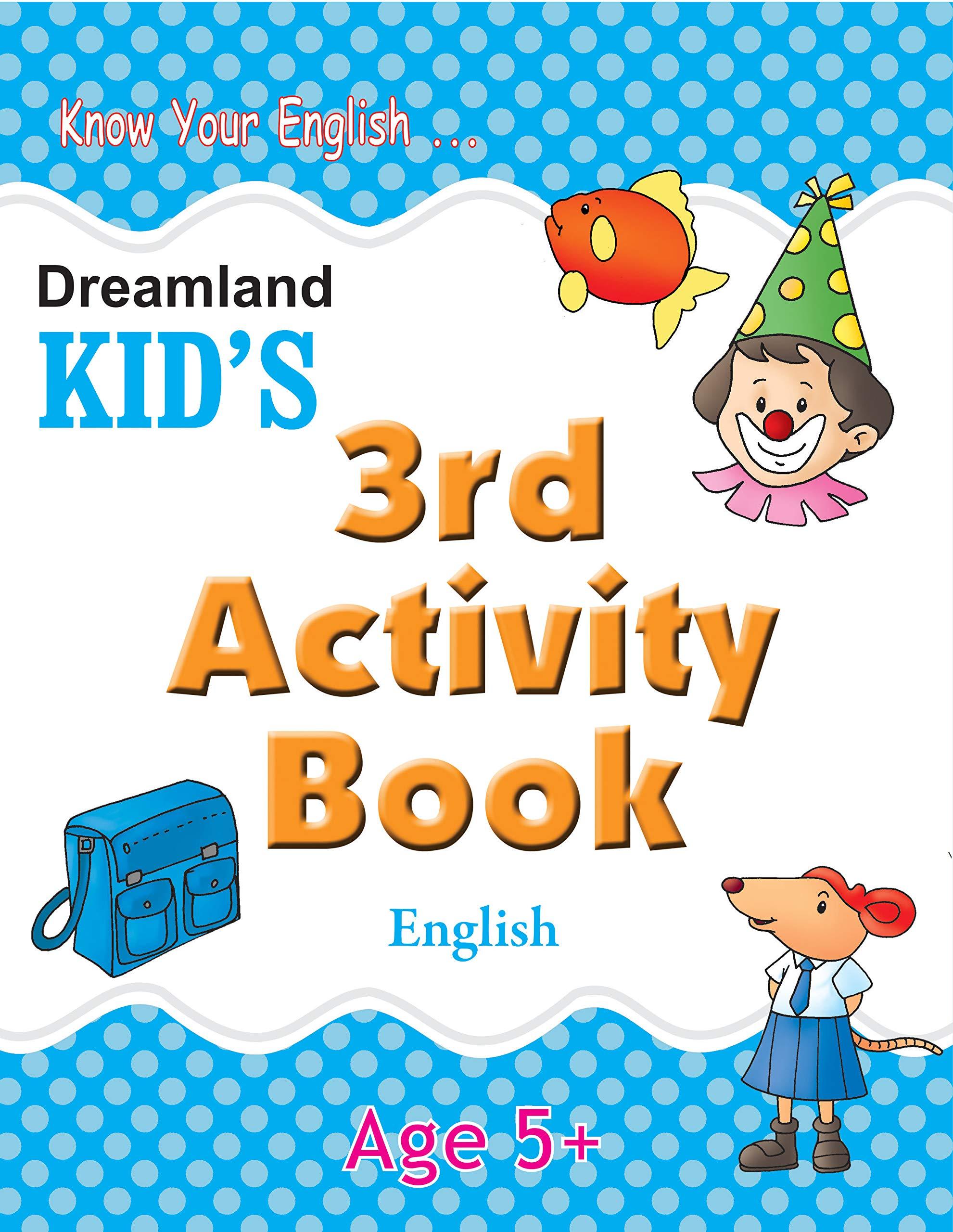 3rd Activity Book - English