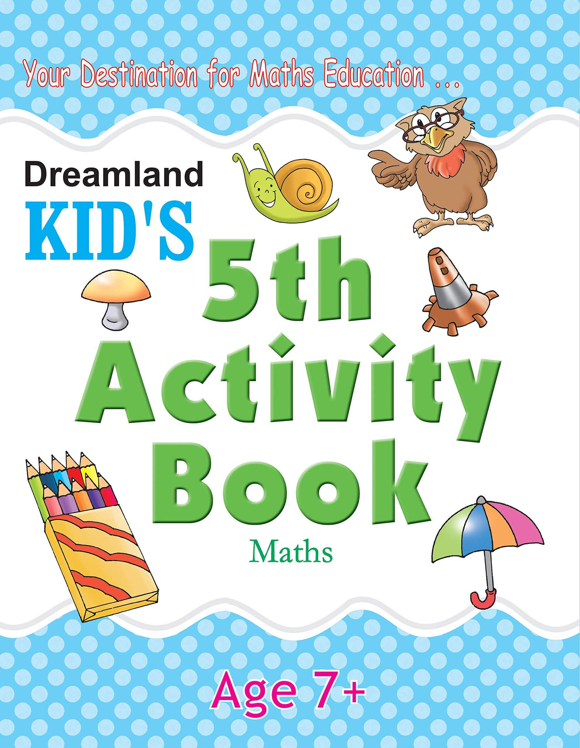 5th Activity Book - Maths