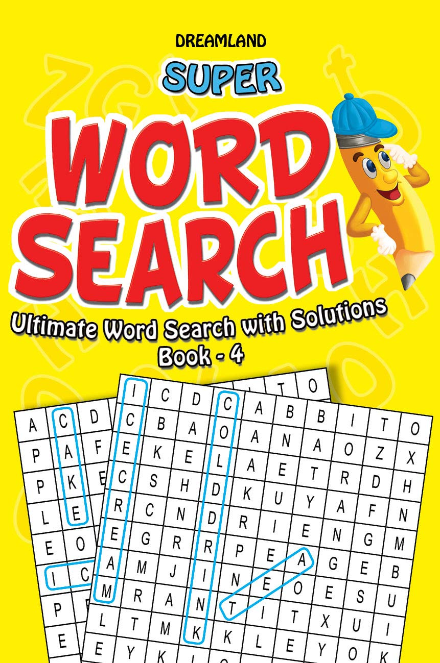 Super Word Search (Ultimate word Search With Solutions Book - 4)