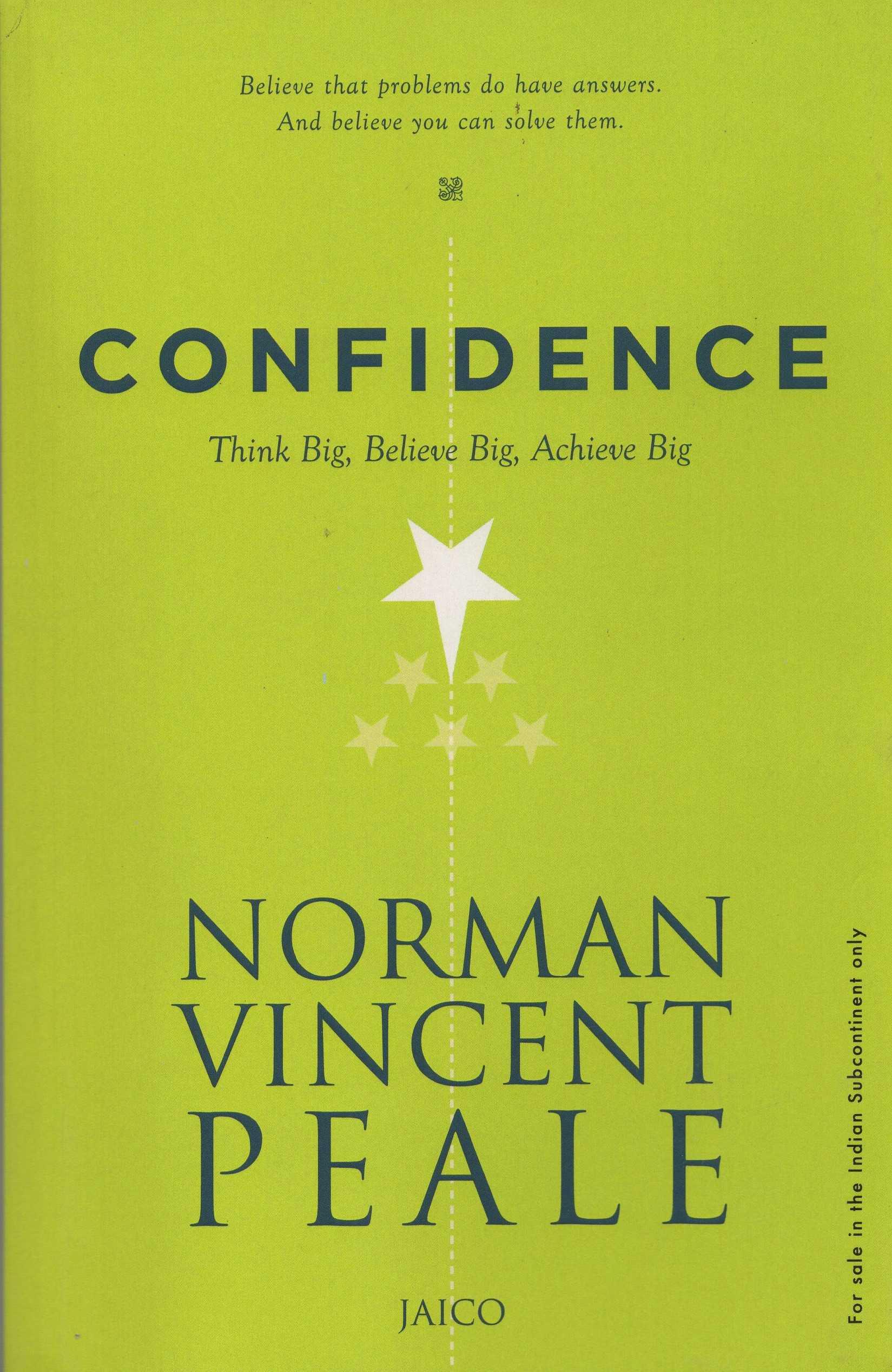 CONFIDENCE (THINK BIG, BELIEVE BIG, ACHIEVE BIG)