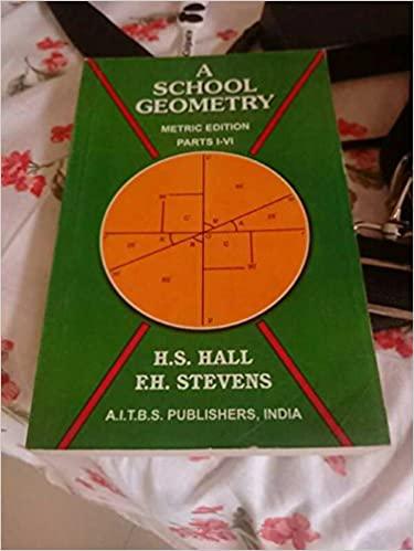 A SCHOOL GEOMETRY PART-I-VI