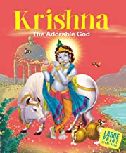 Large Print: Krishna The Adorable God-Indian Mythology