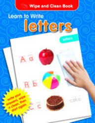 Wipe & Clean Learn To Write Letters