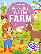 POP-OUT AT THE FARM- WITH 3D MODELS COLOURING AND STICKERS