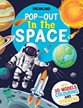 POP-OUT IN THE SPACE- WITH 3D MODELS COLOURING AND STICKERS