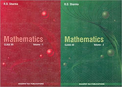 MATHEMATICS FOR CLASS 12 (SET OF 2 VOL.)