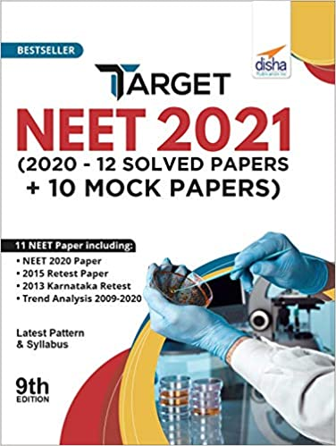 TARGET NEET 2021 (2020 - 12 SOLVED PAPERS + 10 MOCK PAPERS) 9TH EDITION