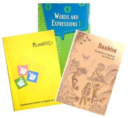 NCERT ENGLISH TEXT BOOK COMBO PACK CLASS - 9TH (MOMENTS, WORDS AND EXPRESSIONS & BEEHIVE)