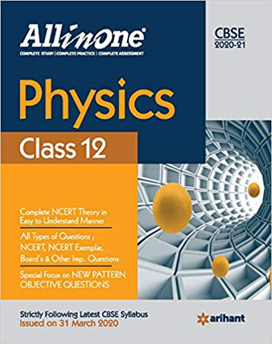 CBSE All In One Physics Class 12 for 2021 Exam