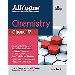 CBSE All In One Chemistry Class 12 for 2021 Exam