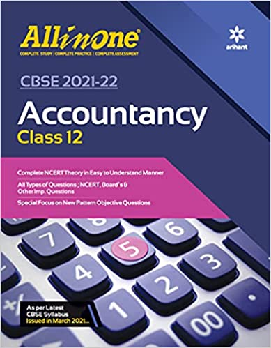 CBSE All In One Accountancy Class 12 for 2022 Exam