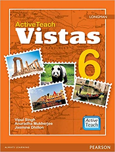 Active Teach: Longman Vistas - Social Studies for CBSE Class 6