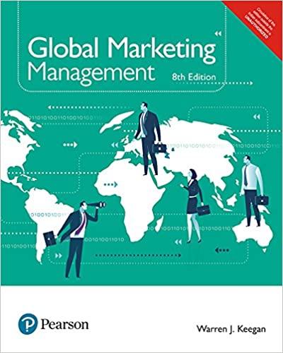 Global Marketing Management   Eighth Edition
