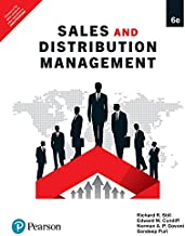 Sales And Distribution Management, 6th Ed.
