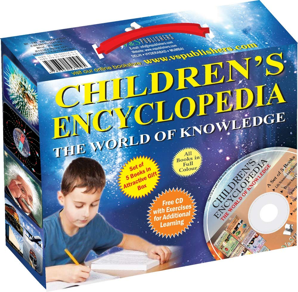 CHILDREN'S ENCYCLOPEDIA: THE WORLD OF KNOWLEDGE