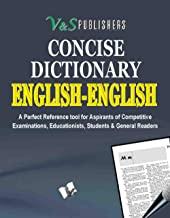 Concise English - English Dictionary (Pocket Size)