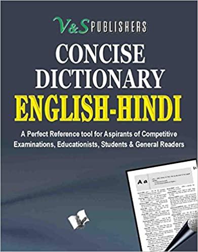 Concise English - Hindi Dictionary (Pocket Size)