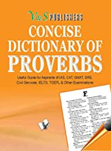 Concise Dictionary Of Proverbs (Pocket Size)
