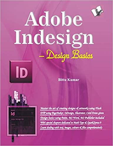 Adobe Indesign: Design Basics
