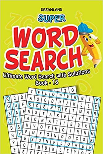 SUPER WORD SEARCH ULTIMATE WORD SEARCH WITH SOLUTIONS BOOK 13