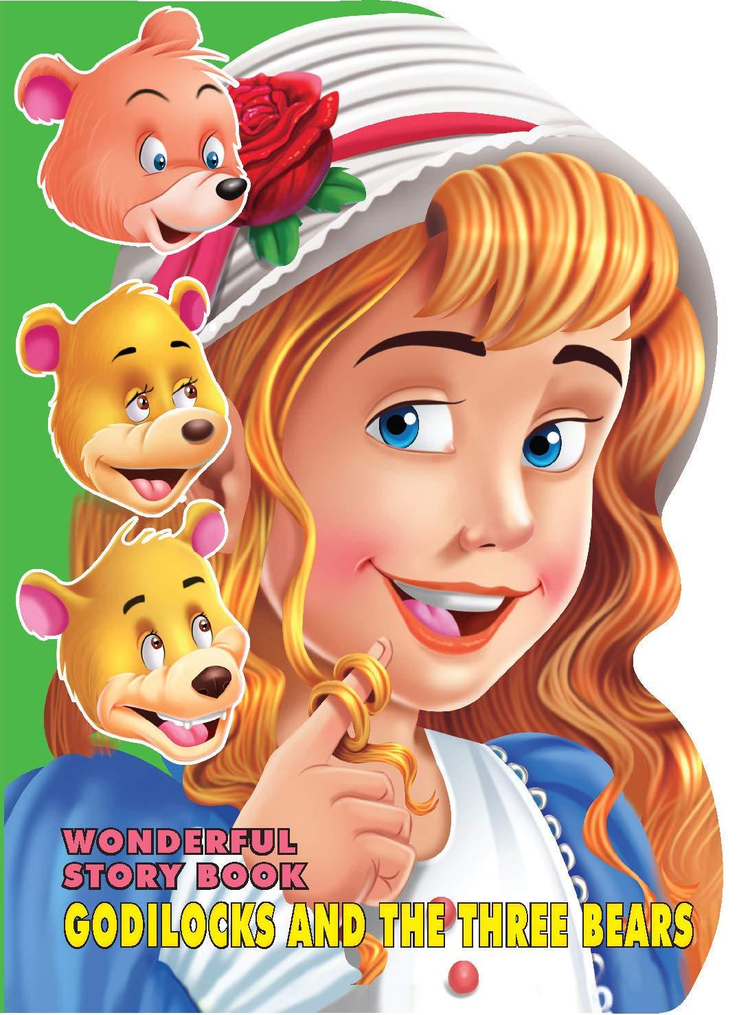 Wonderful Story Board Book - Goldilocks and the three Bears