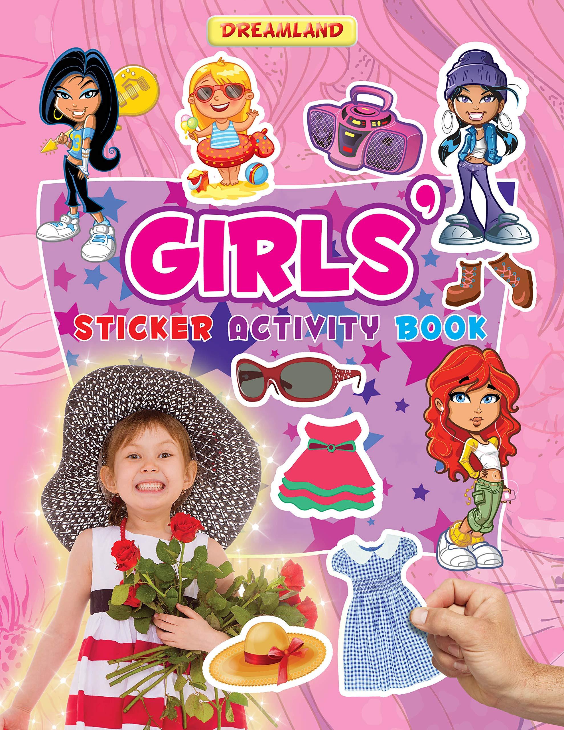 Girls (Sticker Activity Book)