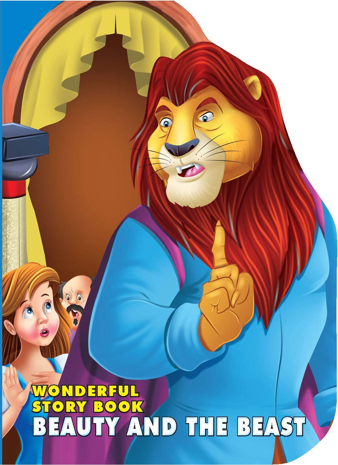 Wonderful Story Board Book - Beauty & The Beast