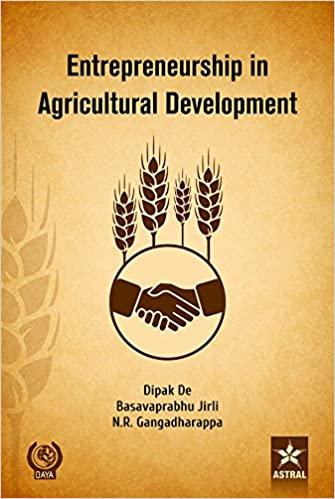 Entrepreneurship In Agricultural Development