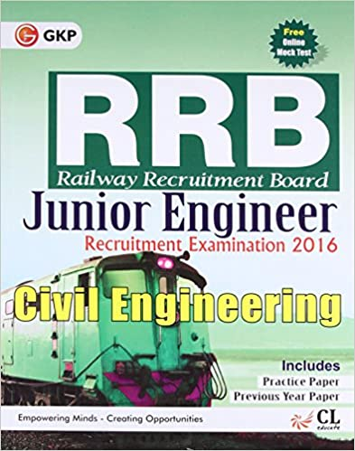 GUIDE TO RRB CIVIL ENGINEERING (JUNIOR ENGG.) 2016