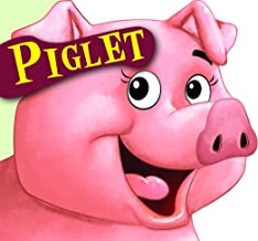 Cutout Board Book: Piglet( Animals and Birds)