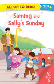 ALL SET TO READ FUN WITH LATTER S SAMMY AND SALLYS SUNDAY