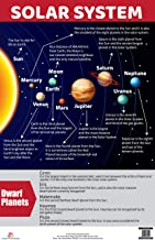 Charts: Solar System Charts (Educational Charts for kids)