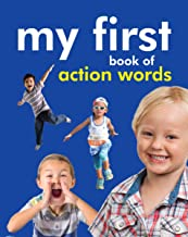 Board book: My First Book of Action Words