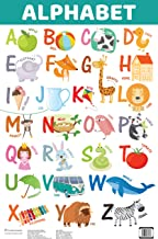 Charts: ALPHABET (Capital Letters) Educational Charts for kids