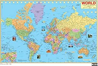 Charts: World Map (Wall Map)
