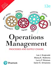 Operations Management: Processes And Supply Chain (12e)