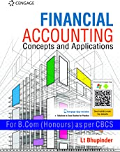 FINANCIAL ACCOUNTING: CONCEPT AND APPLICATIONS FOR B.COM (H)