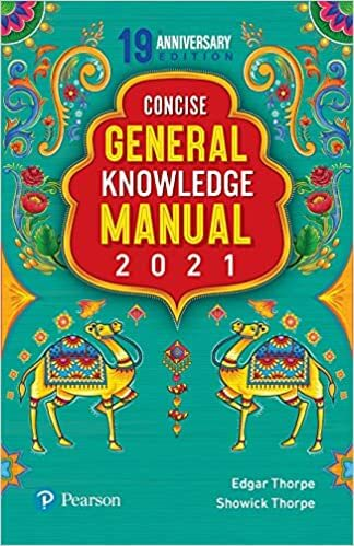 Pearson Conscise General Knowledge Manual 2021