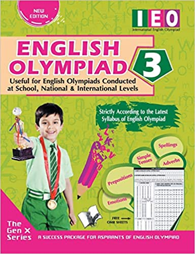 INTERNATIONAL ENGLISH OLYMPIAD - CLASS 3 (WITH OMR SHEETS)