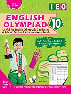 INTERNATIONAL ENGLISH OLYMPIAD - CLASS 10 (WITH OMR SHEETS)