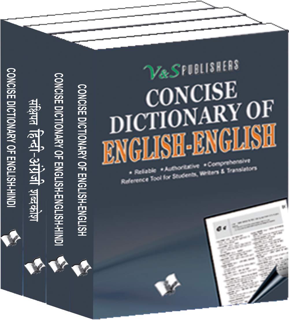 Concise English-Hindi Pocket Sized Dictionary Value Pack