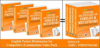 English Pocket Dictionaries For Competitive Examinations Value Pack