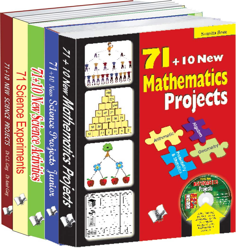 71 Projects For School Students Value Pack (A Set of Books on Science & Mathematics Projects)