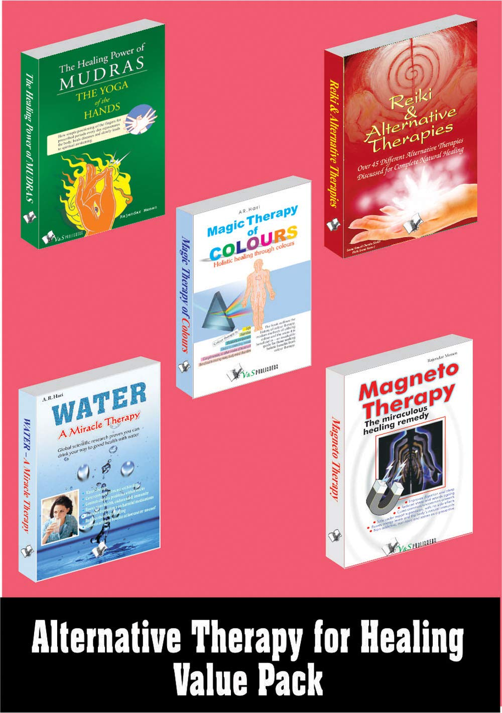 Alternative Therapy For Healing Value Pack (Set of Books)