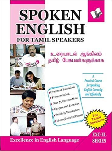 Spoken English For Tamil Speakers