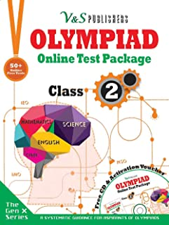 Olympiad Online Test Package Class 2 (Free CD With Activation Voucher)