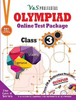Olympiad Online Test Package Class 3 (Free CD With Activation Voucher)
